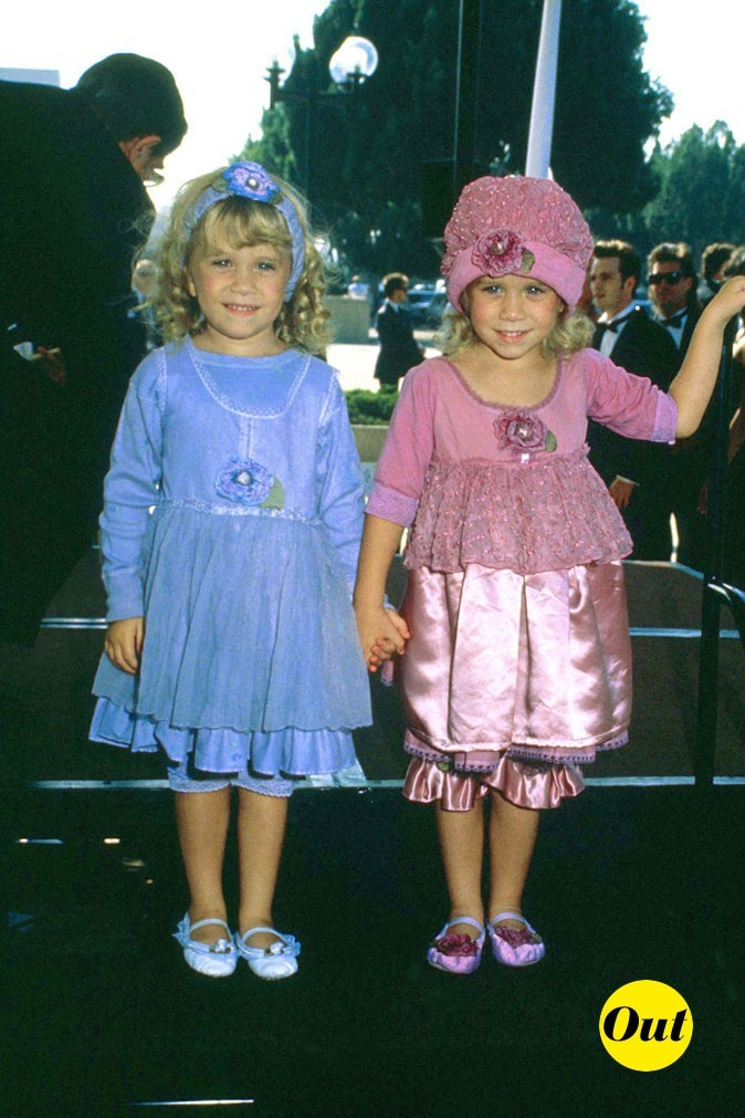 Les jumelles Olsen en 1991 !