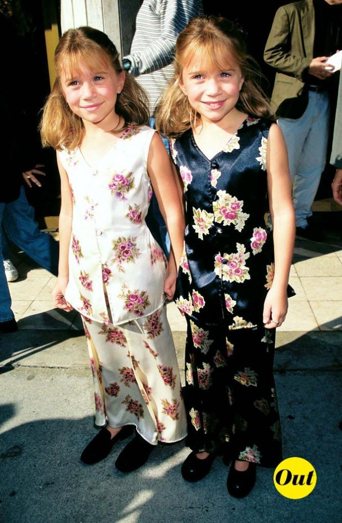 Les jumelles Olsen en 1995 !