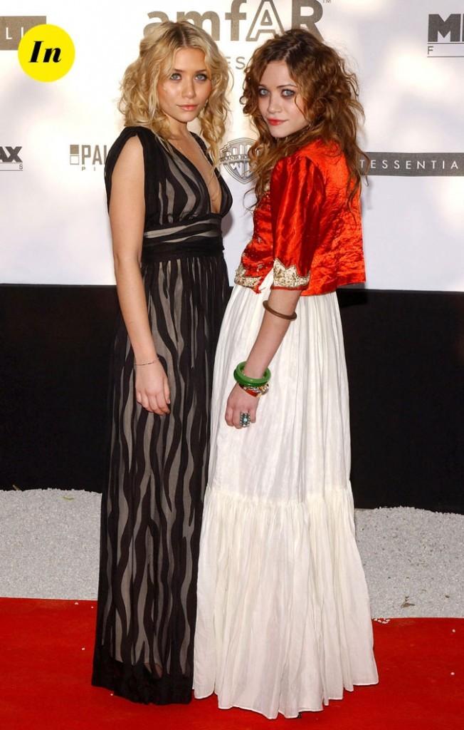 Les looks de femme fatale de Mary-Kate et Ashley en Mai 2005 !