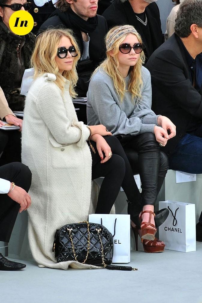 Les lunettes rondes des jumelles Olsen en Février 2008 !