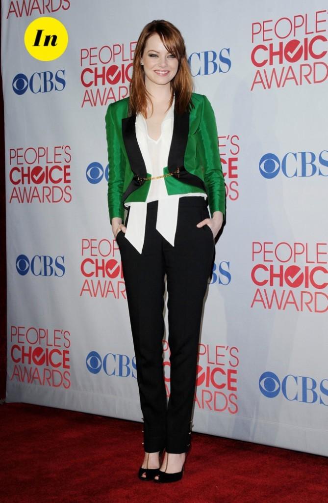 En total look Gucci, Emma Stone a tout bon