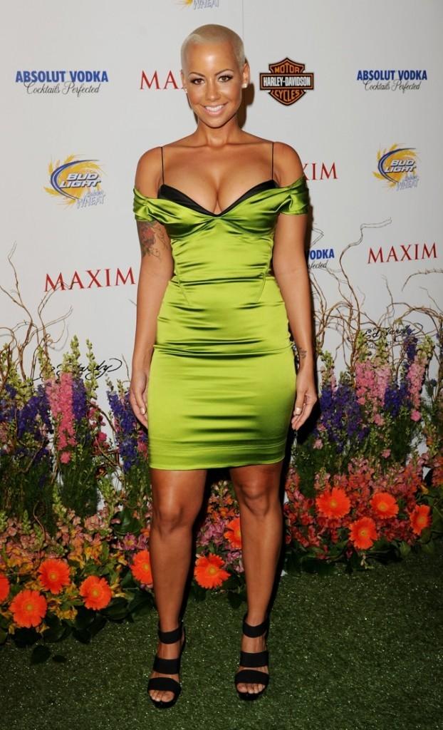 2010: Verte pomme à la soirée Maxim !