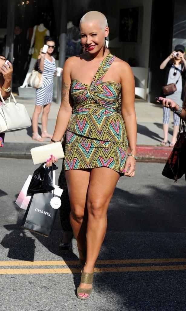 2011: Amber Rose toujours aussi colorée !