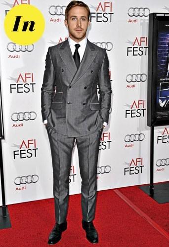 Mode homme 2011 : le costume croisé de Ryan Gosling