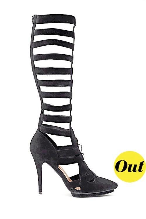 Les sandales de gladiateur