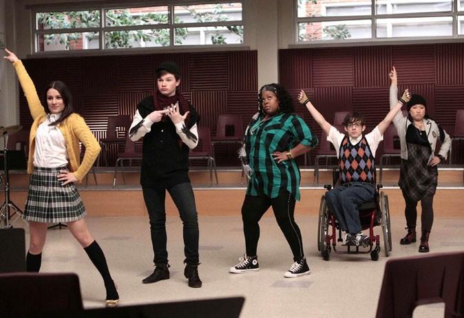 Glee : des looks imprimés !