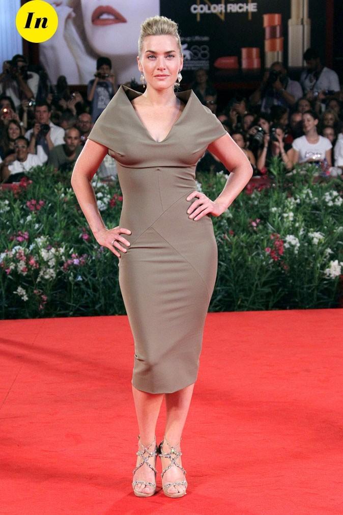 Mostra de Venise 2011 : la robe moulante Victoria Beckham de Kate Winslet