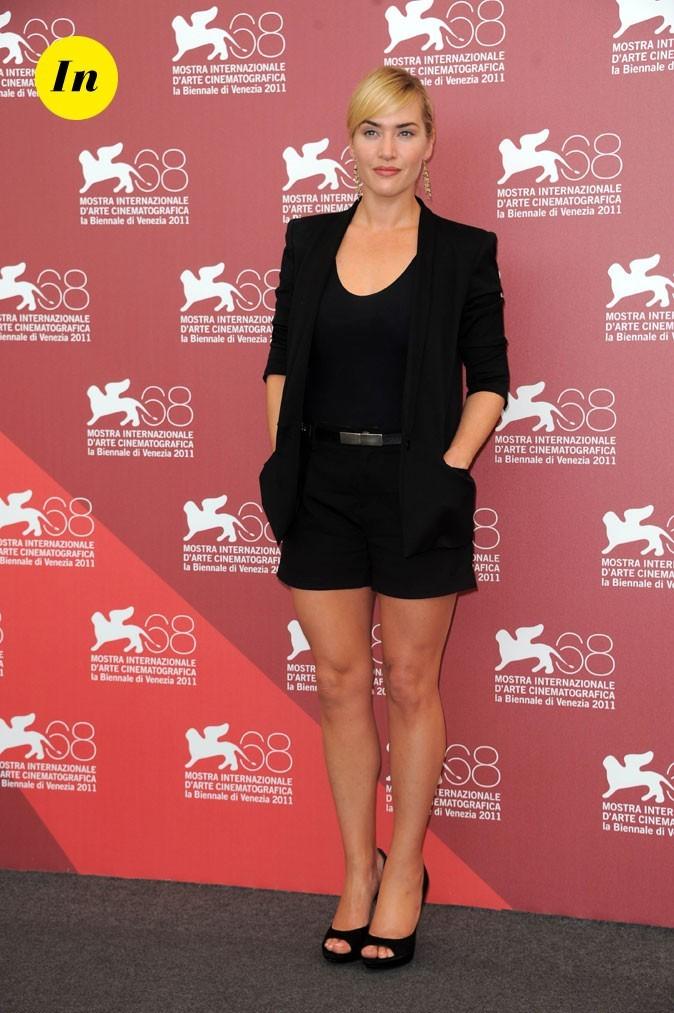 Mostra de Venise 2011 : le look short de Kate Winslet