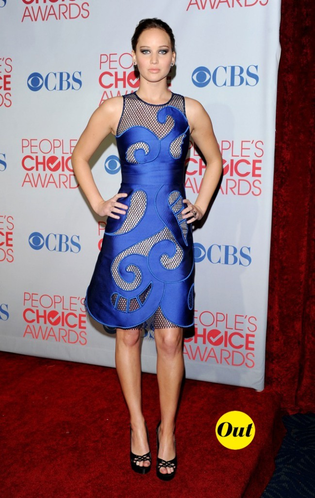 Comme son personnage dans X-Men, Jennifer Lawrence voit la vie en bleu