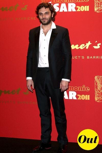 César 2011 : le costume de Pio Marmaï