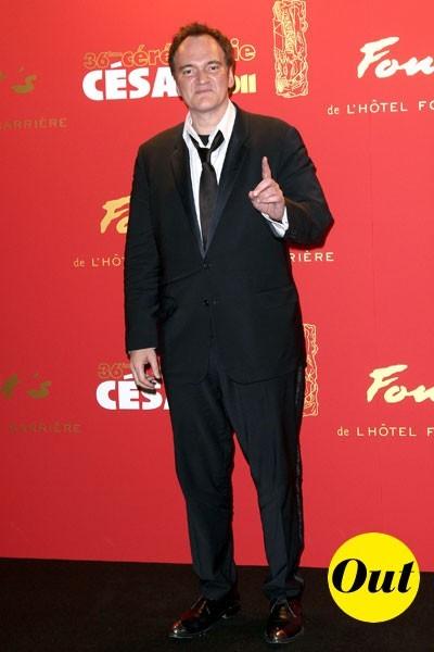 César 2011 : le costume de Quentin Tarantino