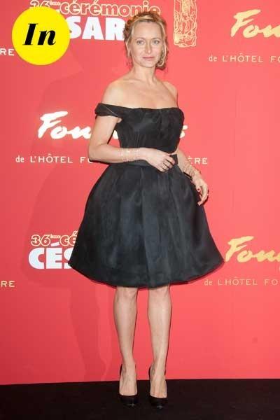 Photos : César 2011 : la petite robe noire de Julie Ferrier