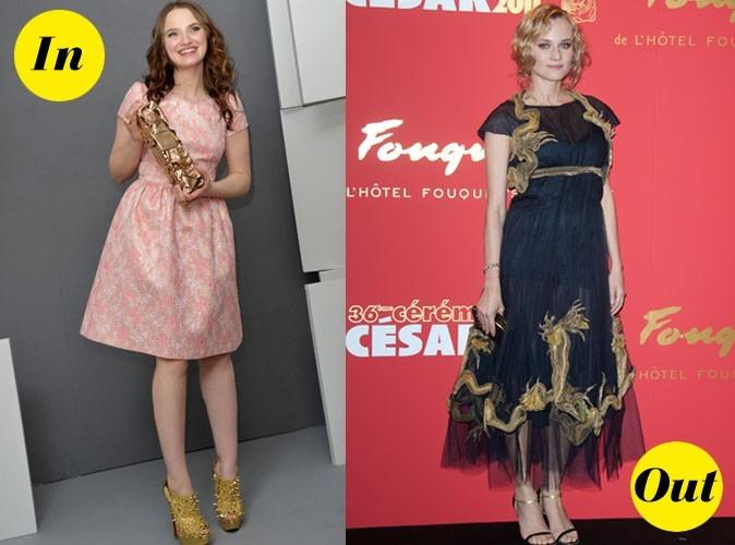 Photos : César 2011 : les robes In&Out des stars !
