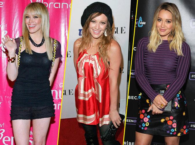 De l'ado complexée dans Lizzie McGuire à la star stylée de Younger, découvrez le CV Fashion d'Hilary Duff !