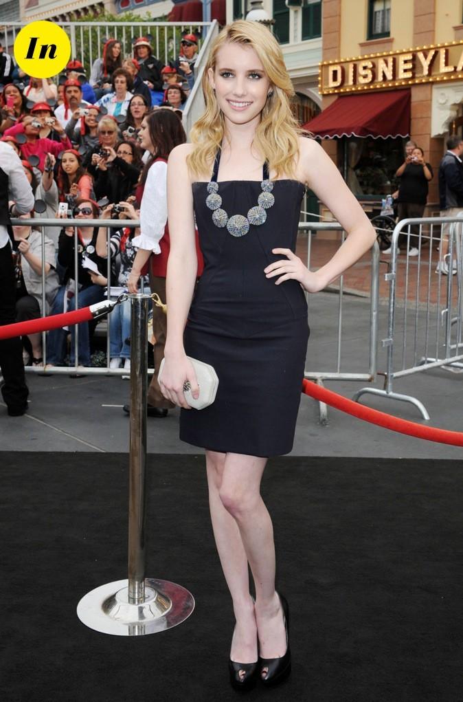 Une vraie poseuse la petite Emma Roberts !