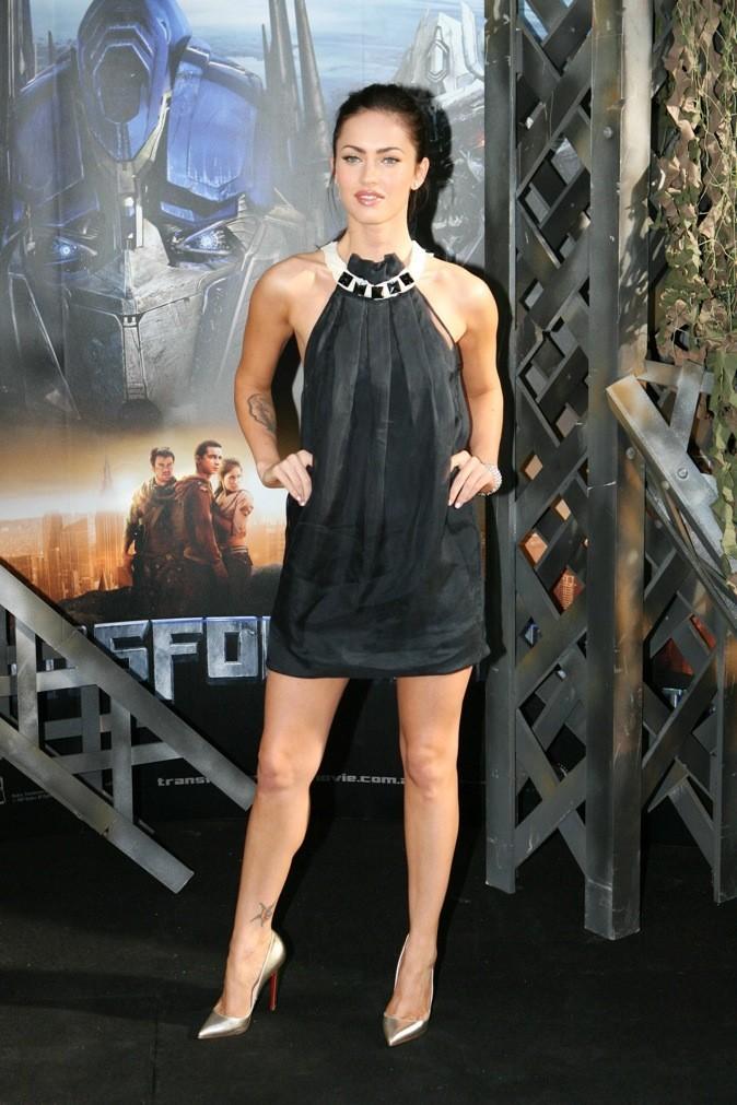 2007 : elle porte déja les petites robes noires !