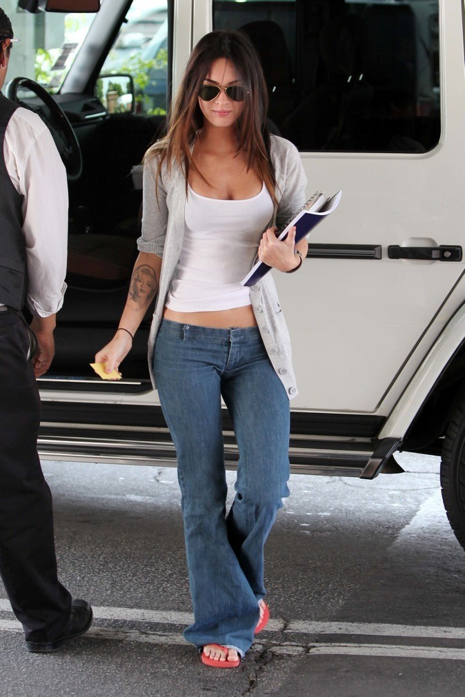 2009 : Megan Fox en mode casual street style !