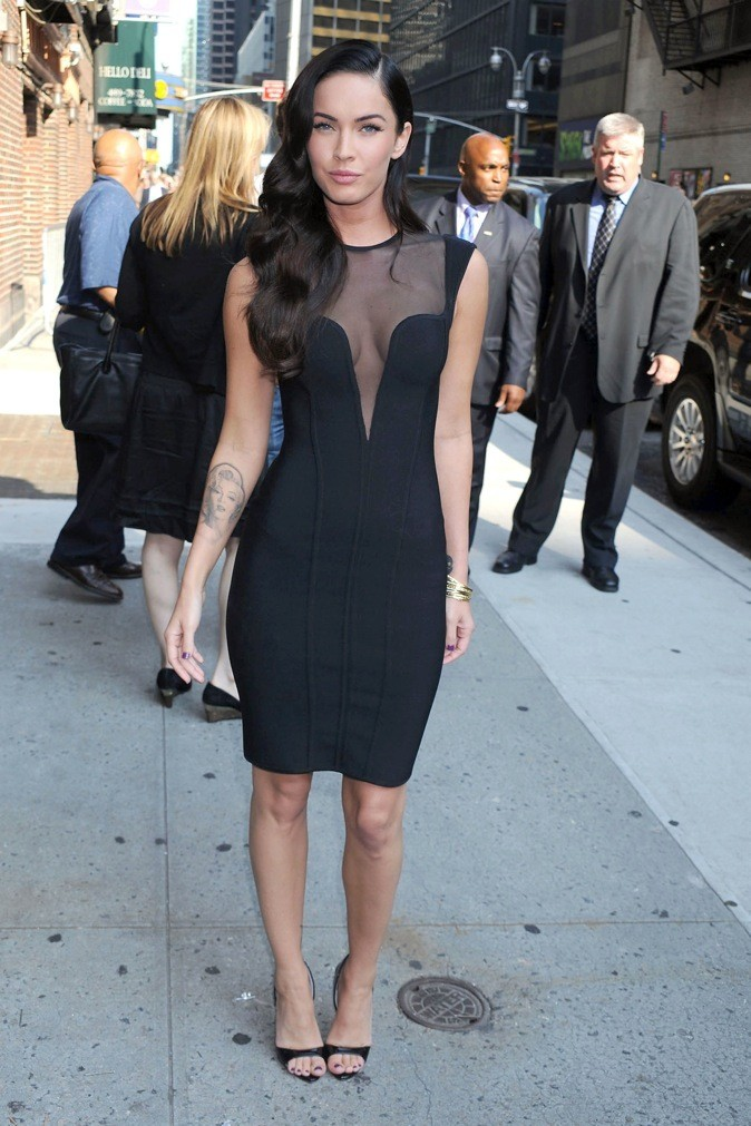 2009 : Megan Fox participe au Late Show avec David Letterman !