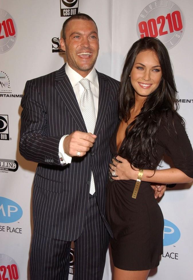 2010 : Megan Fox et son fiancé Brian Austin Green !