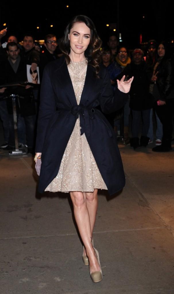 Mars 2012 : Megan Fox se rend à la Première de Friends with Kids !