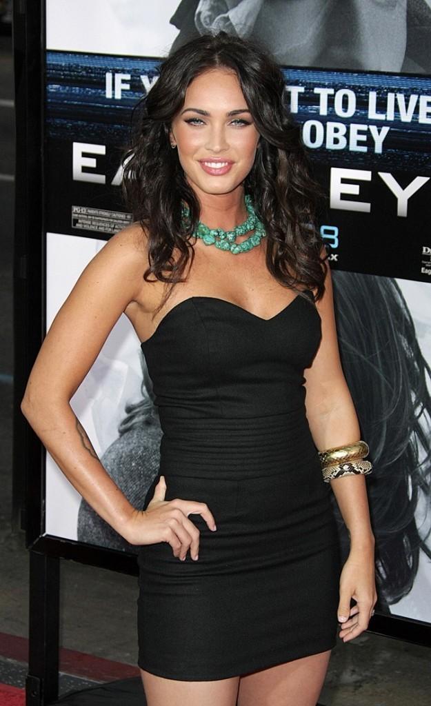 Megan Fox à la Première de Eagle Eye !