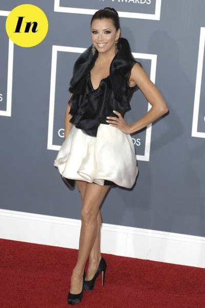 Photos : Grammy Awards 2011 : la robe Ashi d'Eva Longoria