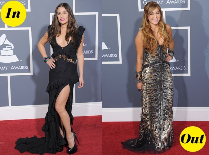 Photos : Grammy Awards 2011 : les robes IN&OUT des stars