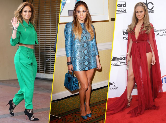 Jennifer Lopez : D�couvrez le CV Fashion color� d'une diva !
