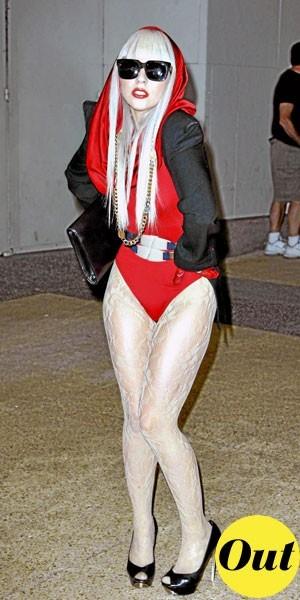 Photos : le look fashion faux pas de Lady Gaga