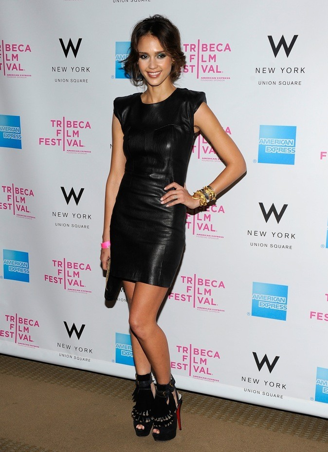 Jessica Alba au Tribeca Film Festival: Annual Awards Night, 2010 à New York