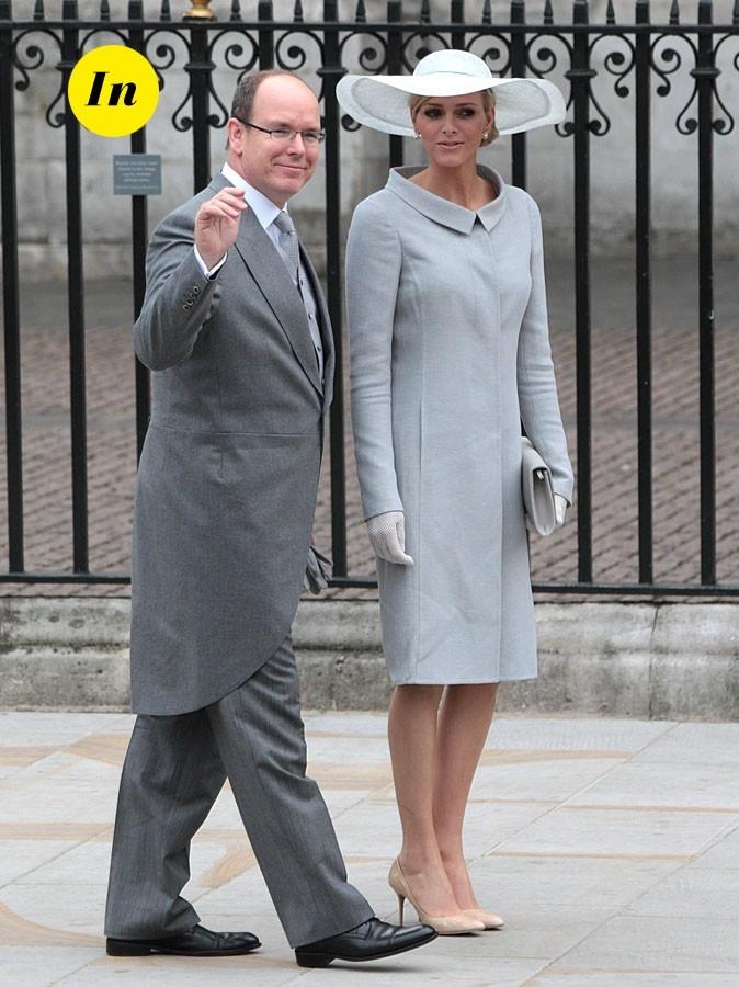 Prince Albert et Charlene Wittstock