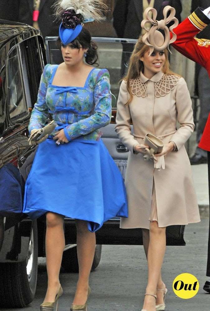 Princesses Béatrice et Eugénie