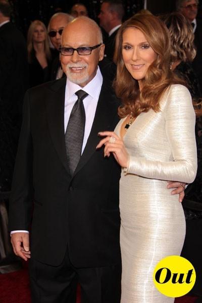 Look de stars aux Oscars 2011 : Céline Dion en couple avec René Angelil