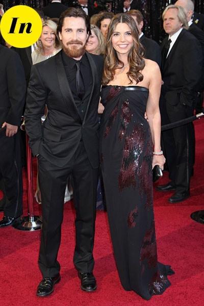 Look de stars aux Oscars 2011 : Christian Bale en couple avec Sandra Blazic