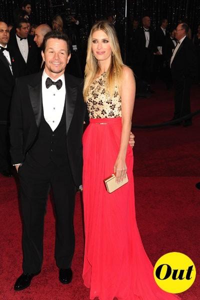 Look de stars aux Oscars 2011 : Mark Wahlberg en couple avec Rhea Wahlberg
