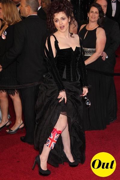 Oscars 2011 : la robe Colleen Atwood d'Helena Bonham Carter
