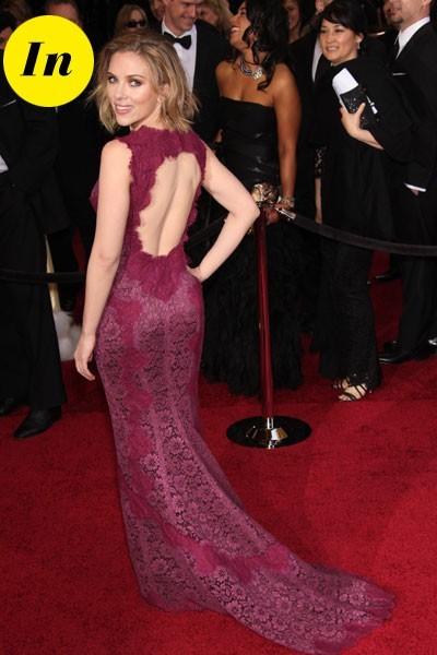 Oscars 2011 : la robe Dolce & Gabbana de Scarlett Johansson