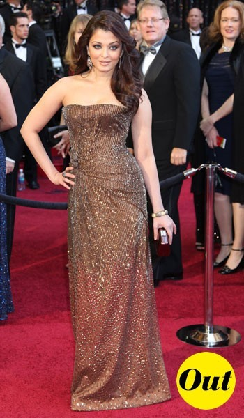 Oscars 2011 : la robe Giorgio Armani Prive d'Aishwarya Rai