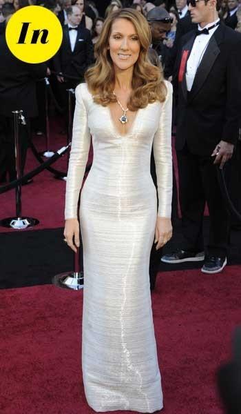 Oscars 2011 : la robe Giorgio Armani Privé de Céline Dion