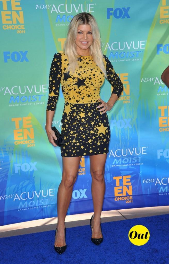 Le look de Fergie aux Teen Choice Awards 2011 !