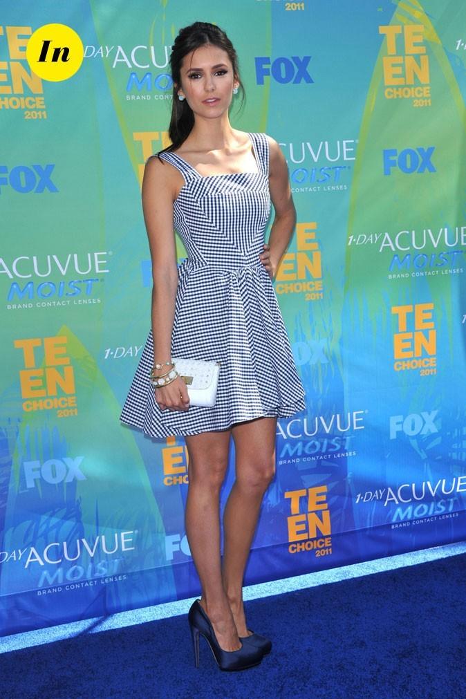Le look de Nina Dobrev aux Teen Choice Awards 2011 !