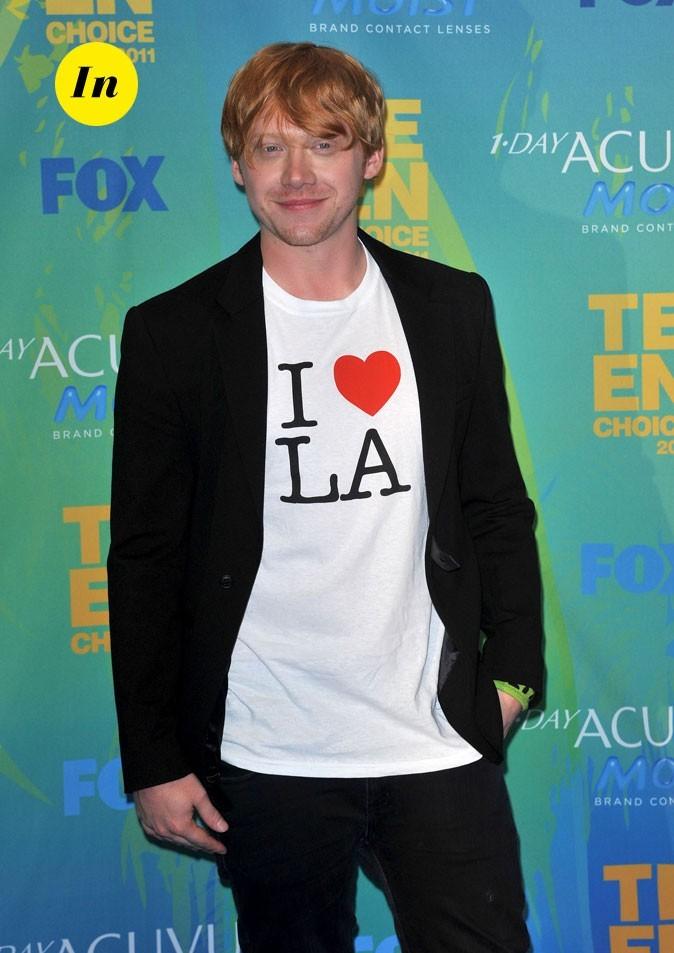 Le look de Rupert Grint aux Teen Choice Awards 2011 !