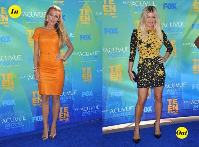 Teen Choice Awards 2011 : Les looks IN & OUT des stars !