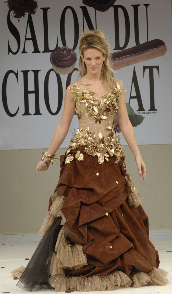 Salon du chocolat 2006 : Lorie