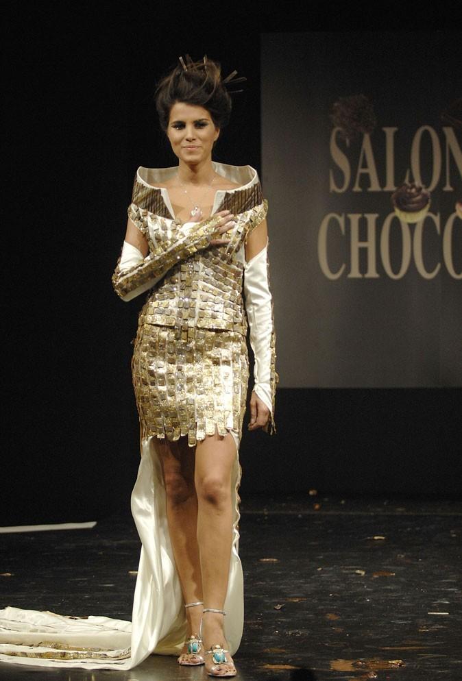 Salon du chocolat 2007 : Karine Ferri