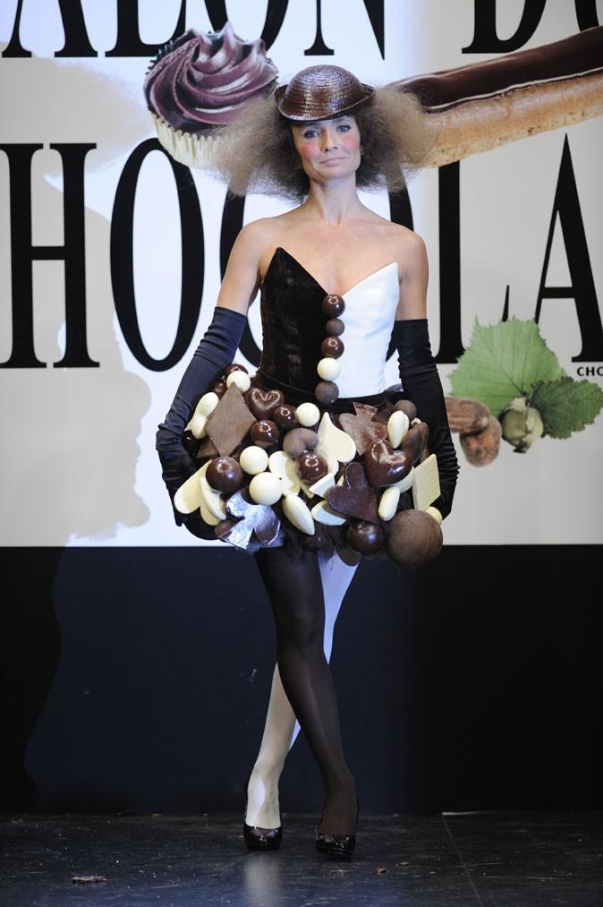 Salon du chocolat 2008 : Axelle Laffont