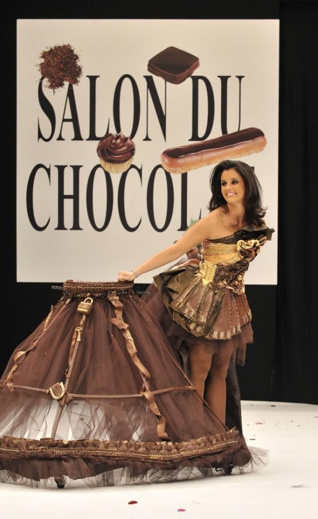 Salon du chocolat 2009 : Faustine Bollaert