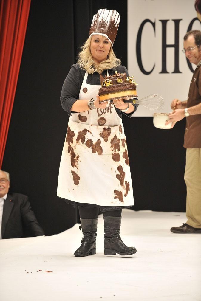 Salon du chocolat 2009 : Valérie Damidot
