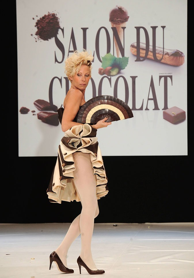 Salon du chocolat 2010 : Rebecca Hampton