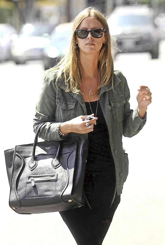 Nicky Hilton a craqué pour le it bag Luggage de Céline